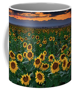August Sunflowers In Colorado Coffee Mug