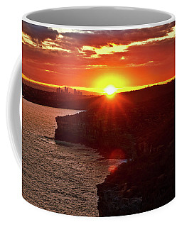 August Sunset From North Head Coffee Mug