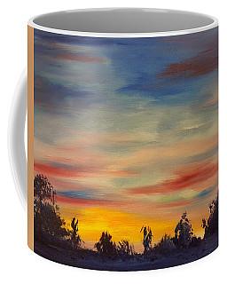 August Sunset In Sw Montana Coffee Mug