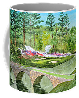 Augusta National Golf Course 12th Hole Coffee Mug