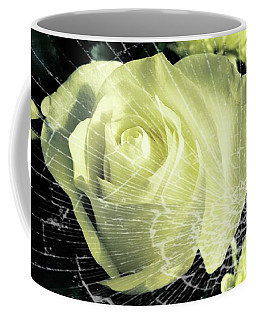 Aunt Edna's Rose Coffee Mug by Rachel Hannah