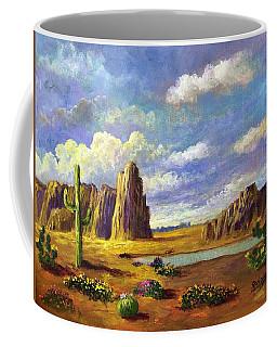 Aura Of The Desert Light Coffee Mug