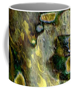 Aureolin Dribble Coffee Mug