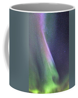 Coffee Mug featuring the photograph Aurora Abstract by Hitendra SINKAR