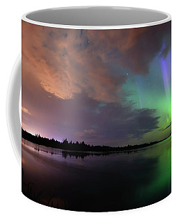 Aurora And Storm Clouds Coffee Mug
