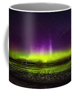 Coffee Mug featuring the photograph Aurora Australis by Odille Esmonde-Morgan