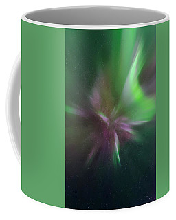 Aurora Borealis Corona Coffee Mug