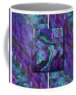 Aurora Borealis Geometry Square Coffee Mug