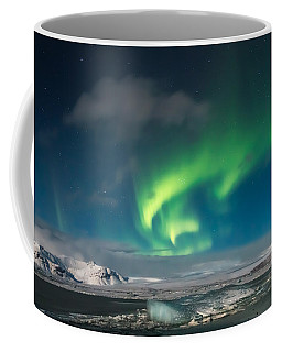 Coffee Mug featuring the photograph Aurora Borealis by Susan Leonard