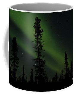 Aurora Borealis The Northern Lights Interior Alaska Coffee Mug