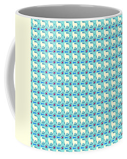 Aussie Dog Pattern Coffee Mug