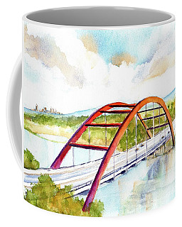 Austin 360 Bridge - Pennybacker Coffee Mug