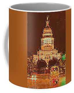 Austin Capitol At Night Coffee Mug