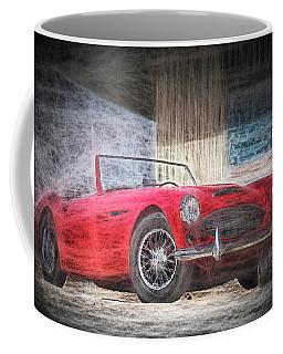 Austin Healey Chalk Study 4 Coffee Mug