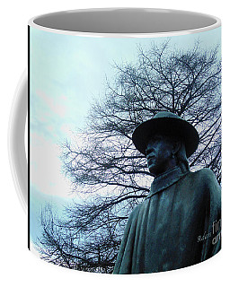 Austin Hike And Bike Trail - Iconic Austin Statue Stevie Ray Vaughn - Two Coffee Mug