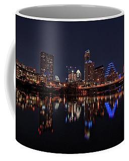Austin Skyline At Night Coffee Mug
