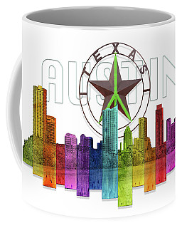 Austin Texas Skyline Coffee Mug