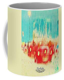 Coffee Mug featuring the photograph Austin Traffic by Barbara Tristan