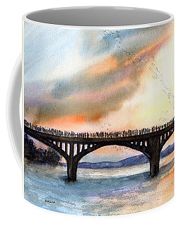 Austin, Tx Congress Bridge Bats Coffee Mug