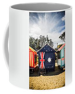 Australia Bathing Boxes Coffee Mug