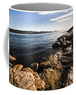 Australian Bay In Eastern Tasmania Coffee Mug