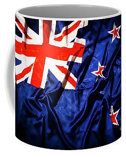 New Zealand Flag Art Coffee Mug