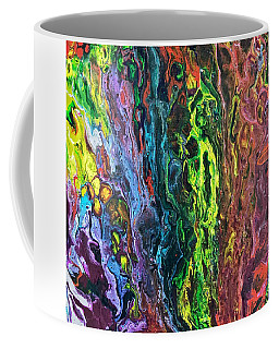 Coffee Mug featuring the painting Auto Body Paint Technician  by Robbie Masso