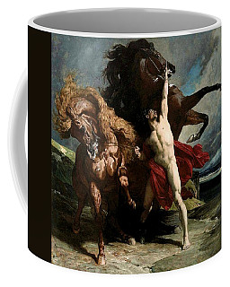 Automedon With The Horses Of Achilles Coffee Mug