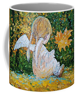 Autumn Angel Coffee Mug