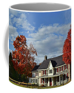 Autumn Abode Coffee Mug by JAMART Photography