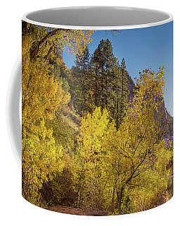 Autumn Along Kolob Creek Coffee Mug