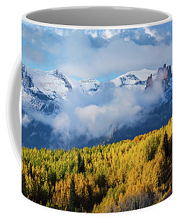 Autumn Along Ohio Pass Coffee Mug