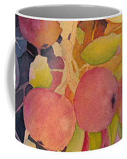 Autumn Apples Full Painting Coffee Mug