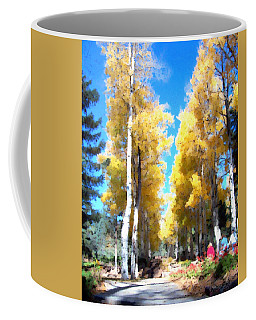 Autumn Aspens Coffee Mug