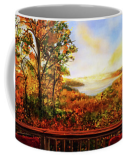 Autumn At Beaver Lake -beaver Lake Art Coffee Mug