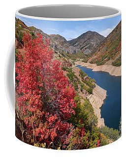 Autumn At Causey Reservoir - Utah Coffee Mug