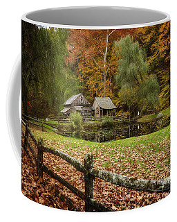 Autumn At Cuttalossa Farm V Coffee Mug