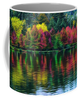 Coffee Mug featuring the photograph Autumn At Green Lake Seattle by Yulia Kazansky