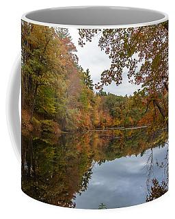 Autumn At Hillside Pond Coffee Mug