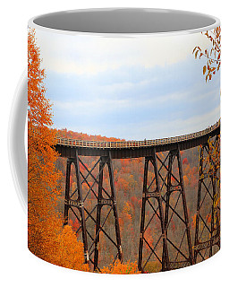 Autumn At Kinzua Bridge Coffee Mug