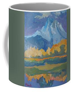 Autumn At Mt. Moran Coffee Mug