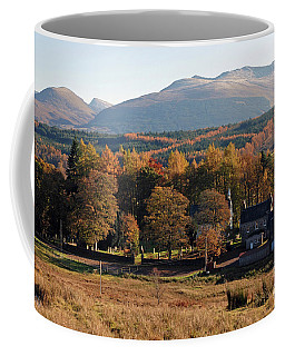 Coffee Mug featuring the photograph Autumn At Spean Bridge by Phil Banks