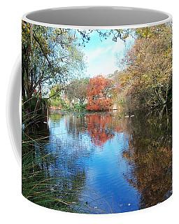 Autumn At The Park Coffee Mug