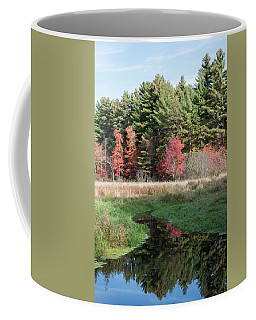 Autumn At The River Coffee Mug
