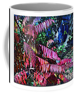 Coffee Mug featuring the photograph Autumn At The Taverne by Joan  Minchak