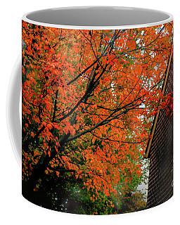 Autumn At The Window Coffee Mug