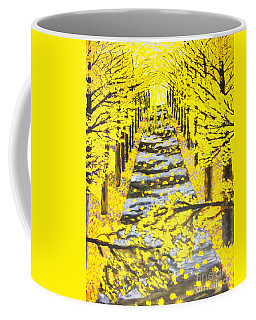 Autumn Avenue Coffee Mug