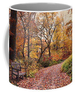 Autumn Azalea Garden Coffee Mug