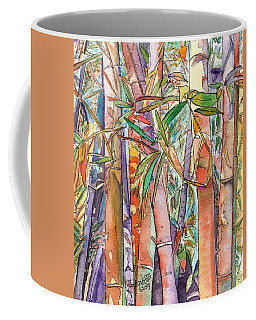 Autumn Bamboo Coffee Mug by Marionette Taboniar
