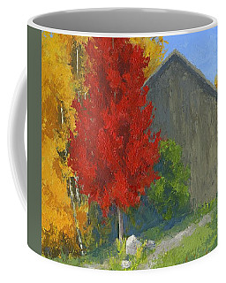 Autumn Barn Coffee Mug